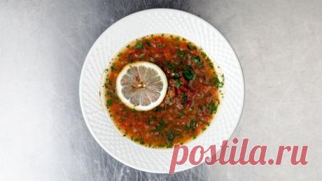 Томатный магрибский суп — Sloosh – кулинарные рецепты