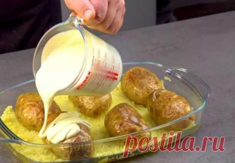 Заливаем картофелины соусом | Краше Всех