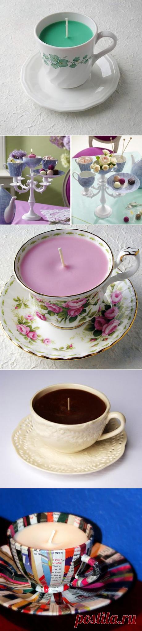 Красивые поделки из чашек своими руками