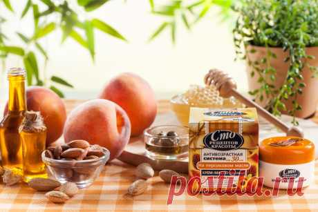 Сто рецептов красоты :: Крем-масло для лица на персиковом масле