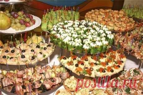 Search on Postila: a canape for new year