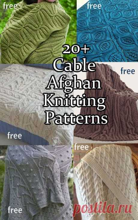 Cable Afghan Knitting Patterns | In the Loop Knitting