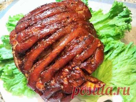 Праздничная СВИНАЯ РУЛЬКА.  Самый вкусный и простой рецепт!  Roasted Pork.