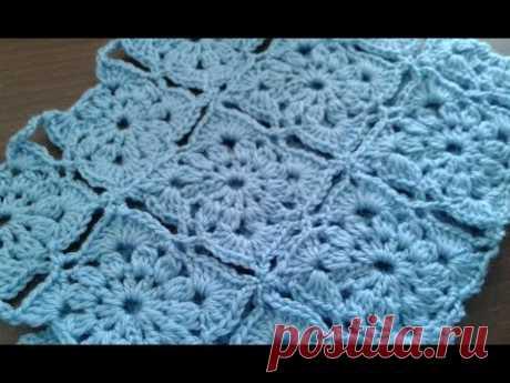 Жакет из квадратных мотивов (безотрывное вязание) - Вязание - Страна Мам