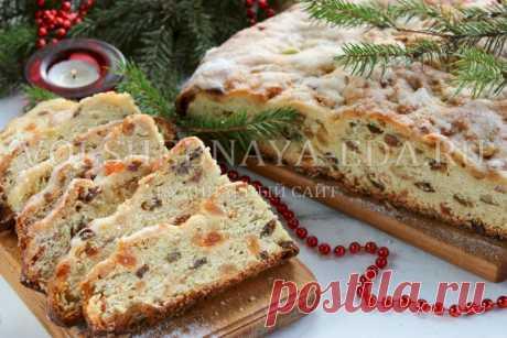El bizcocho con pasas navideño de Dresde | Mágico Eда.ру
