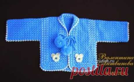 КРАСИВОЕ вязание крючком для малышей, подборка 100 схем и описаний