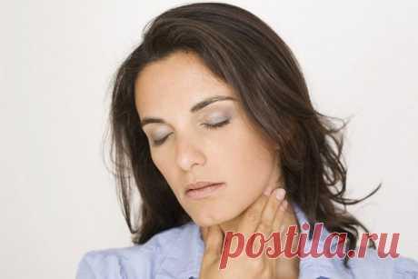 Причины появления кома в горле - Горло