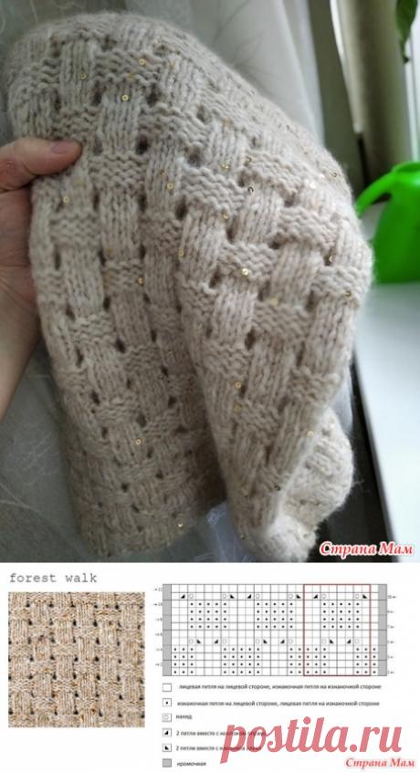 """Детский свитер по мотивам """"Лесной прогулки"""" - Вязание - Страна Мам"""