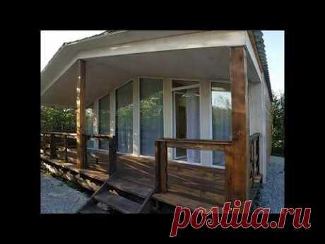 Обзор Панорамный дом 40м2 с террасой