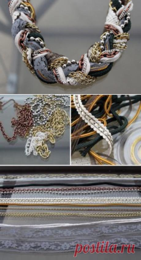 Креативное ожерелье. Мастер-класс. ~ Свое рукоделие