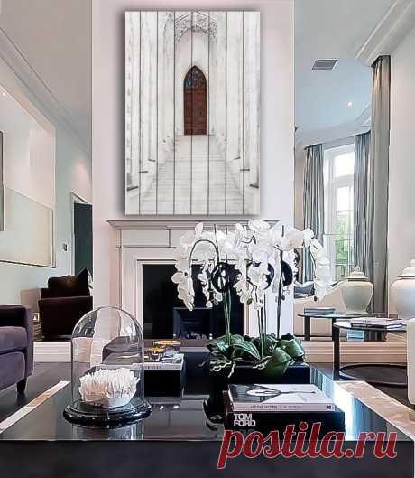 "Картина ""Белая лестница"" по цене от 5900 руб. Размеры: 60x90 см, 80x120 см, 100x150 см, 120x180 см. Срок изготовления: 2-3 дня."