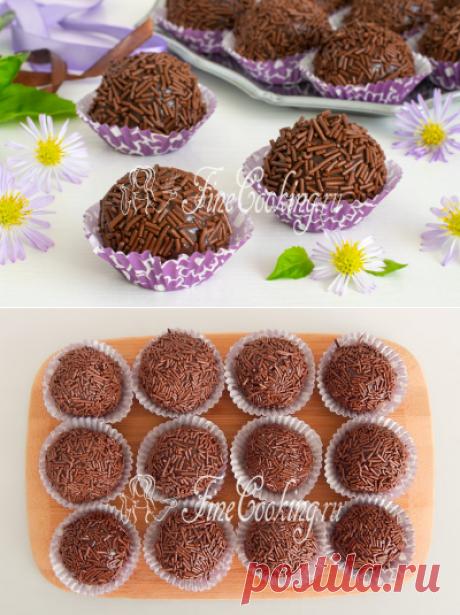 Шоколадные конфеты Бригадейро - рецепт с фото