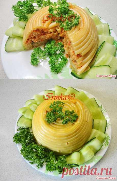 Любителям макарон. Французское блюдо, которое раньше готовили только при королевском дворе.
