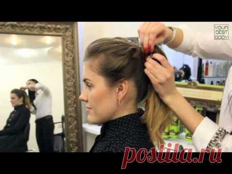 5 легких и быстрых причесок на каждый день   Hairstyle Tutorial