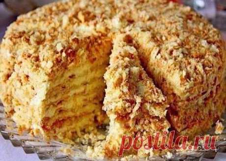 Отменный тортик без выпечки «Светлана» - Вкусные рецепты - медиаплатформа МирТесен Представляем вашему вниманию рецепт очень вкусного тортика, который понравится абсолютно всем. Этот обалденный тортик очень легко приготовить и вам не понадобится ничего выпекать. Коржи для него мы будем обжаривать на сковороде. Нежный крем отлично дополнит их. Все настолько просто, быстро и мега
