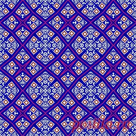 Геометрический бесшовный орнамент.  ---   Nahtlose geometrische Muster  Kostenloses Stock Bild HD - Public Domain Pictures