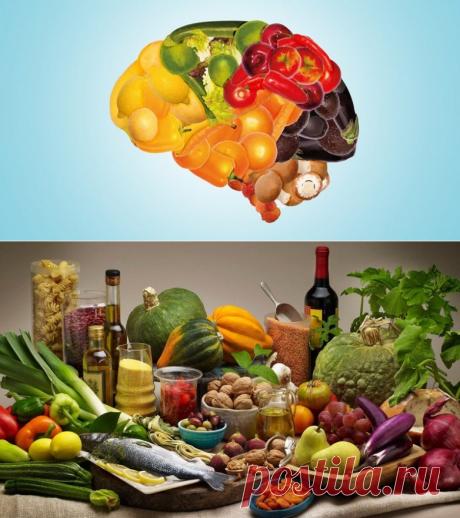 15 продуктов для молодости мозга / Будьте здоровы