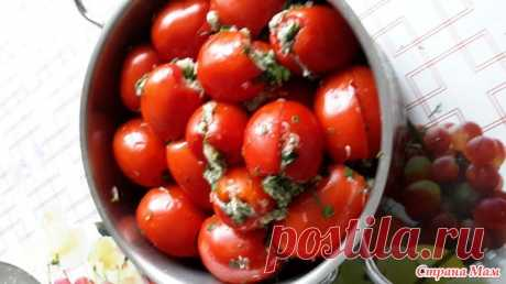 Квашеные помидоры-оригинальный рецепт. - Я не повар, я только учусь. - Страна Мам