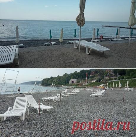 Пустые пляжи в Сочи в разгар сезона — что случилось? Читайте статью!