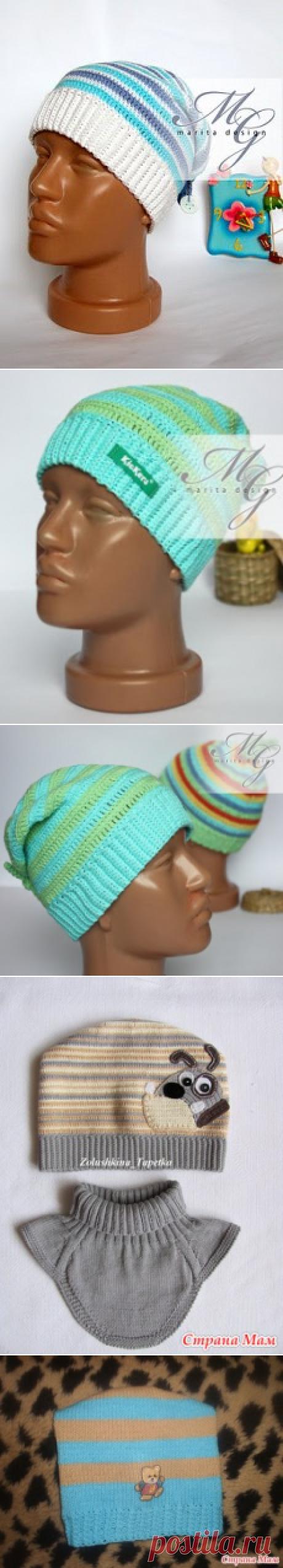 Вязаная шапочка для мальчика | Что на голову?