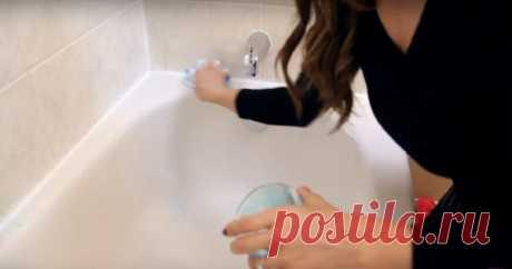 Смешала всего 3 ингредиента: ослепительная чистота и приятный аромат в ванной за 10 минут. суперсредство! ~ Життя - це мить!