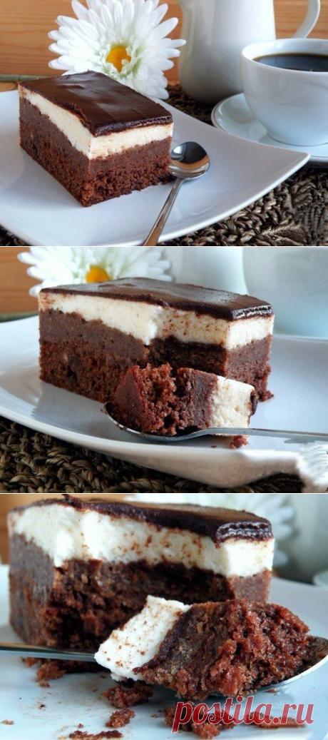 """Торт """"Птичка-картошка в шоколаде"""""""