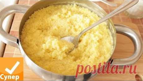 MILLET CEREAL! My tasty recipe on water and milk! Step-by-step with a photo porridge millet how to weld