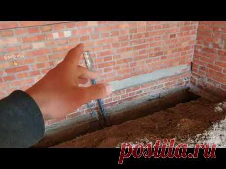Канализация частного дома пошагово (часть 1. подготовка основания, назначение точек)