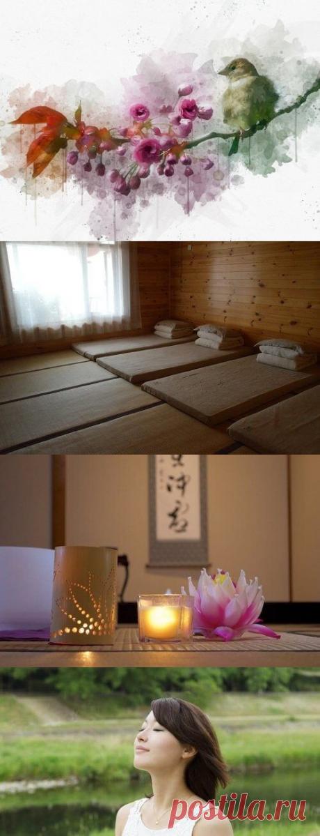 Японские декорации и простые правила