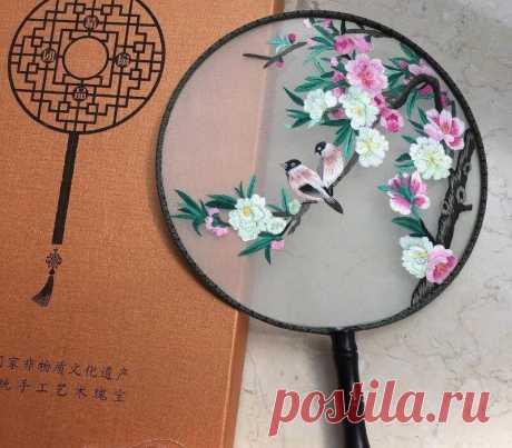 Сучжоуская вышивка: 10 примеров красоты по-китайски | MIAZAR | Яндекс Дзен