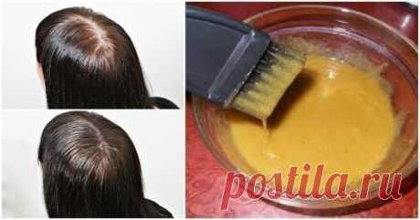 Маска для густоты и быстрого роста волос