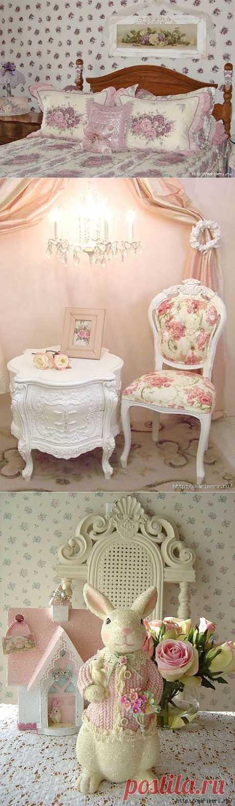 Романтичный и женственный шебби-шик - 8