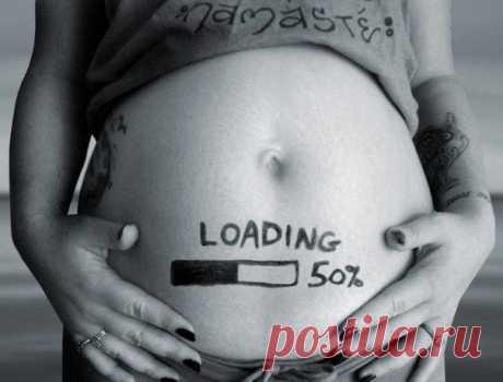 Идея для фотографии беременной