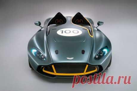 Английский дизайн автомобилей aston-martin-cc100