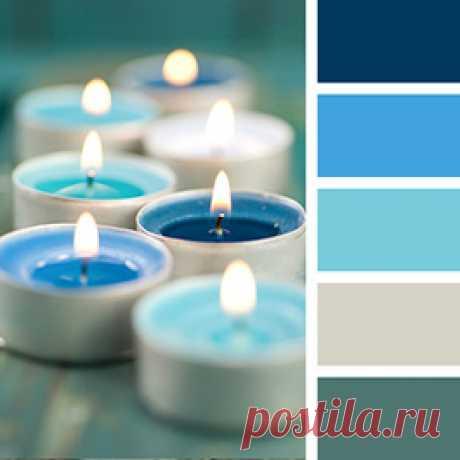 С какими цветами сочетать голубой в интерьере, чтобы ремонт получился теплым и нежным?