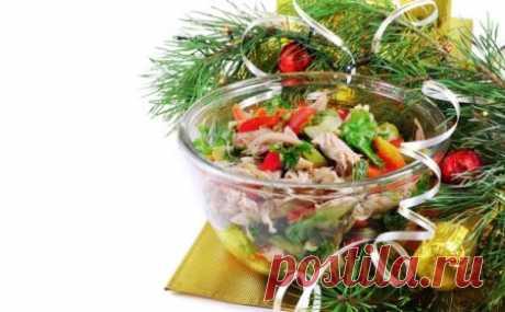 Куриный салат под шубой