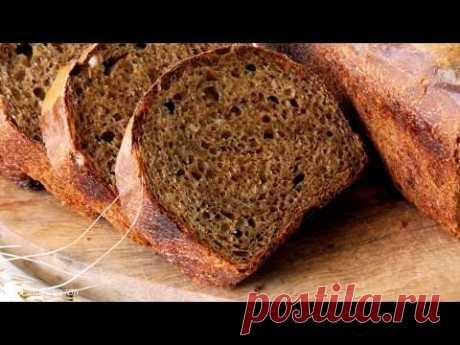 Ароматный Хлеб на КВАСЕ и пшеничной Закваске!