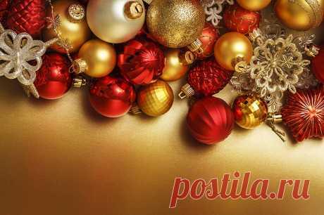 Новогодние и Рождественские обои на рабочий стол и дизайна.
