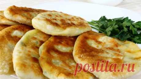Пирожки-лепешки с картошкой и сыром — супер рецепт!