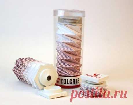 Новый  тюбика зубной пасты   Е-генератор: идеи, концепции, реклама, креатив