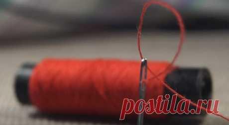 Совет для строптивой нитки! — Полезные советы