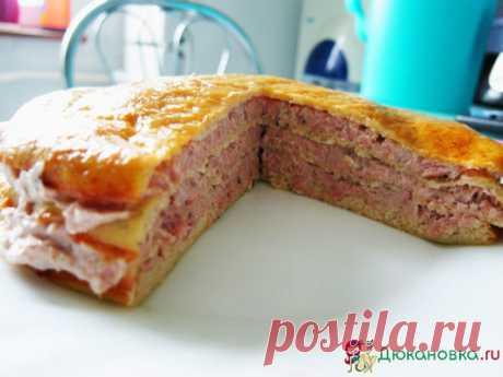 Блинный тортик с тунцом по дюкану от Елены Курочка -> Рецепты блюд из рыбы и морепродуктов по диете Дюкана - Дюкановка