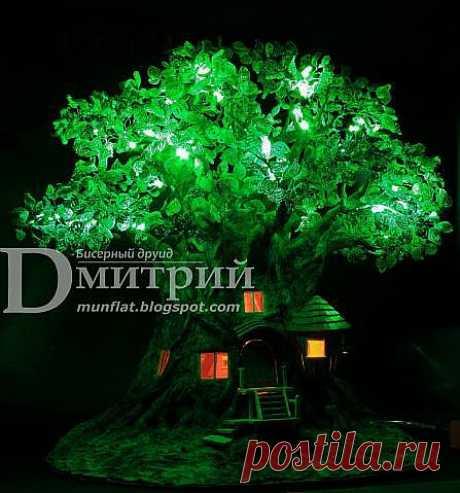 Ночной светильник: Волшебное дерево