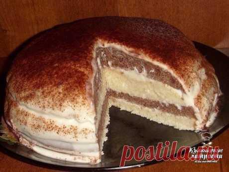 #фабрика_аппетита #рецепты #GIF_рецепты Кефирный торт  Очень простой в приготовлении и в тоже время вкусный тортик. Приготовление занимает совсем не много времени и под силу даже самым начинающим хозяйкам. Если у Вас осталось пол литра кефира и Вы не знаете, что с ним сделать - испеките кефирный торт!  Ингредиенты:  Тесто: 3 яйца, 1 стакан кефира, 1 стакан сах.песка, 0.5 ч.л. соды(погасить), 2 стакана муки. Всё хорошо взбить(тесто как густая сметана). Тесто разделить на 2 ...