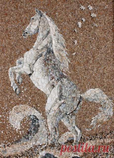 Волшебная палитра песка — Делаем руками