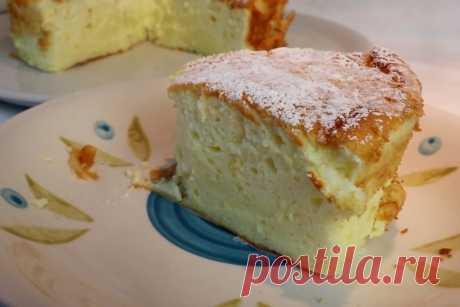 Пирог на йогурте: вкусный, простой, пышный как облачко