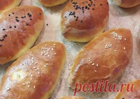 Пирожки с яблочным повидлом и грецким орехом как пух #спас #ореховыйспас Автор рецепта Евгения - Cookpad