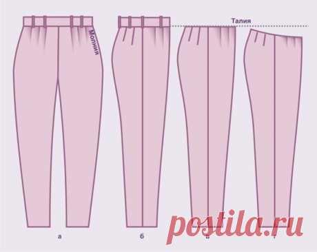 Женские брюки своими руками по готовой выкройке на размеры от 42 до 62 | Шьем с Верой Ольховской | Яндекс Дзен