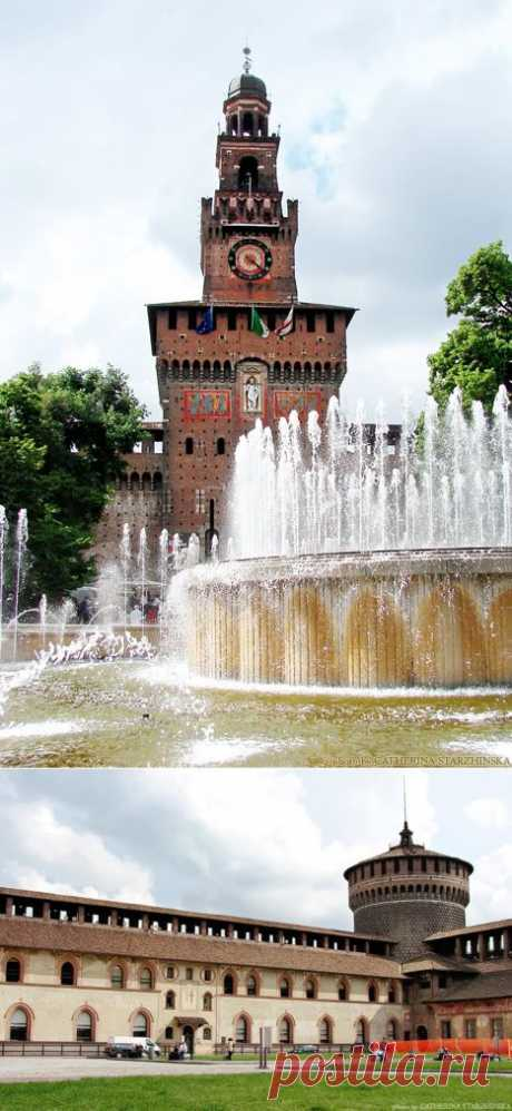 awful_mouse: Милан. Замок Сфорца, парк Семпионе