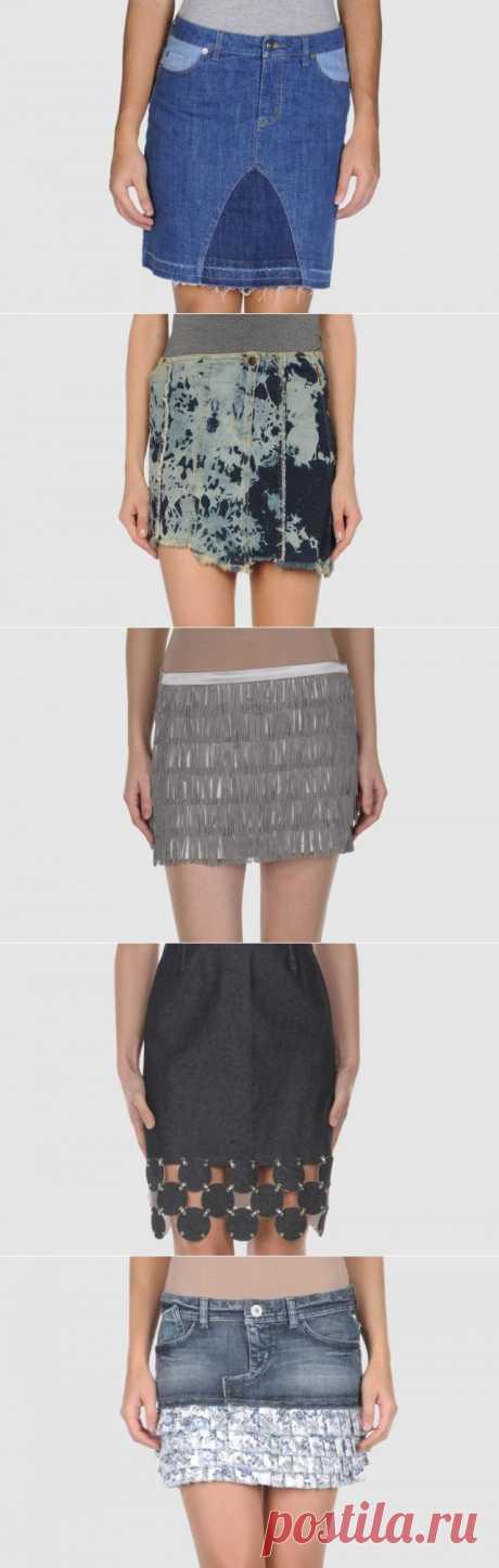 Переделка юбок (трафик) / Юбки и их переделки / Модный сайт о стильной переделке одежды и интерьера